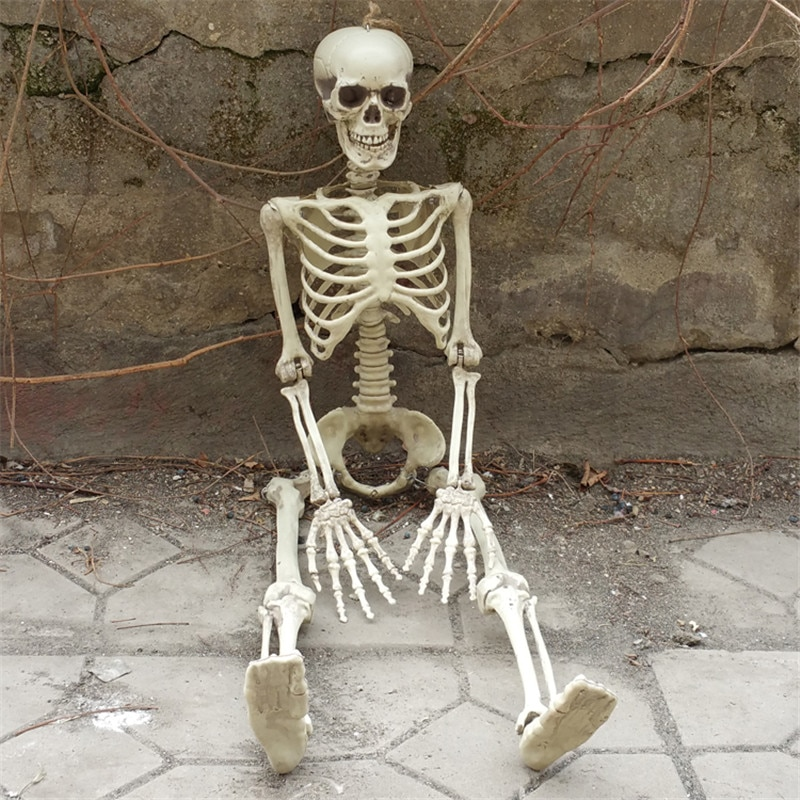 36inch 90cm Halloween Skeleton 100% Plastic Children Size Skeleton for Halloween Decorations