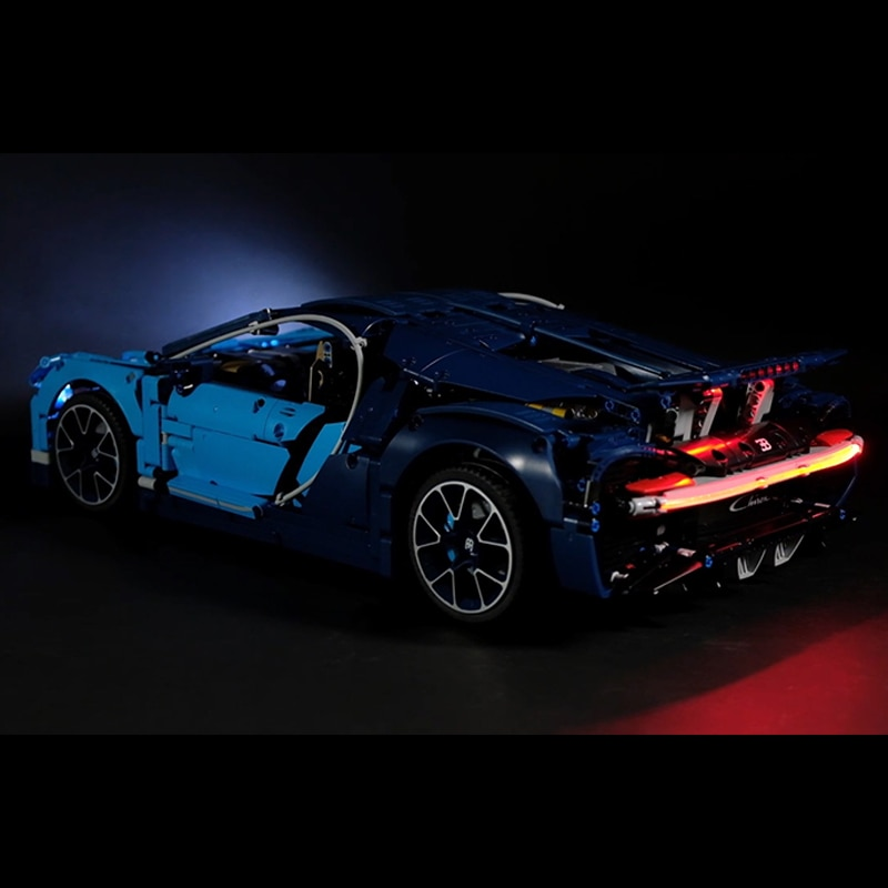 Luz Led para Lego Technic 42083, El Bugatti Chiron creador de coches de carreras Juguetes de bloques de construcción, regalos de Navidad (solo led)