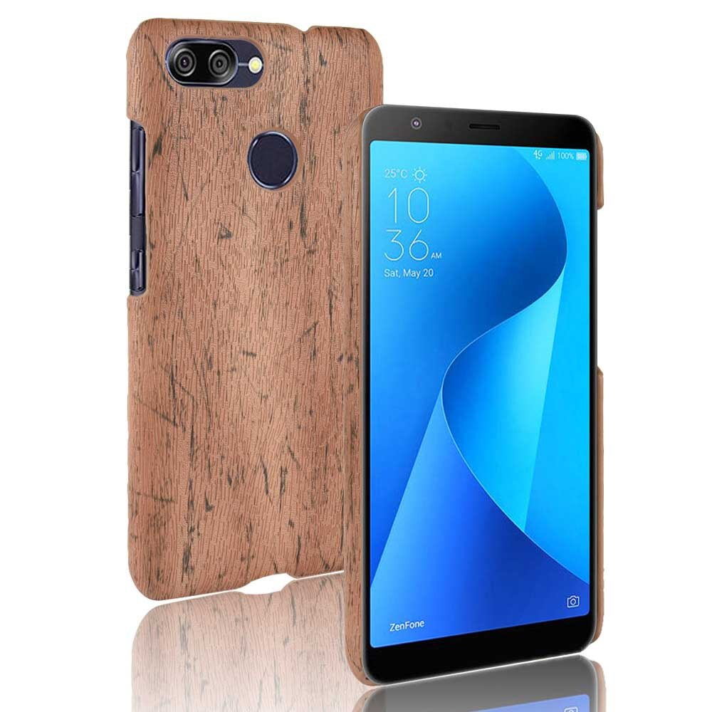 SUNBIN Case For ZenFone Max Plus (M1) ZB570TL X018D Retro wood grain Mobile phone BackCover Phone Protective Case