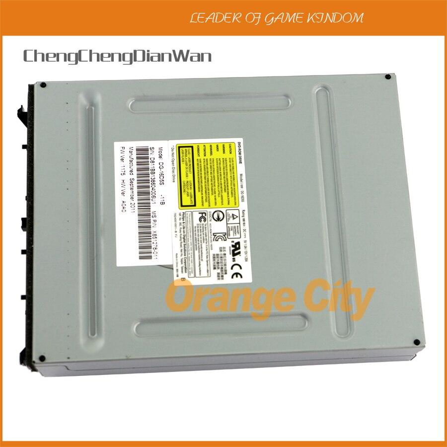 ChengChengDianWan ل Xbox360 سليم dvd محرك ل ايت على DG-16D5S FW1175 FW1532 البصرية سائق الأصلي 16d5s dvd محرك 5 قطعة/الوحدة