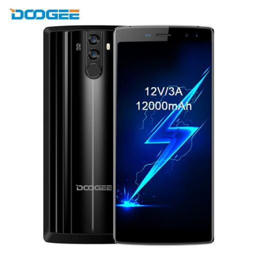 (24hours shipping) DOOGEE BL12000 4G LTE 12000mAh Big Battery Smartphone 6.0'' 4GB+32GB MTK6750T Octa Core Android Mobile Phone