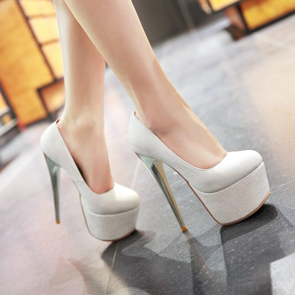 2017 г. Хит продаж, большие и маленькие размеры 30-48, модные соблазнительные женские туфли на высокой платформе с закругленным носком, женские т...