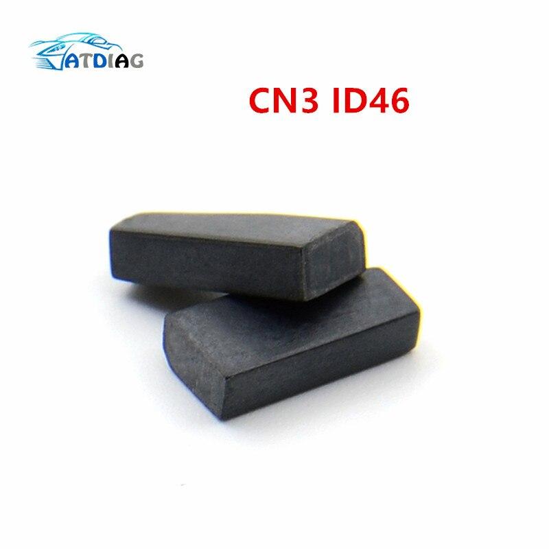 Cn3 id46 1 pces cloner chip (usado para o dispositivo cn900 ou nd900) cn3 auto transponder chip tomando o lugar de chip tpx3/tpx4