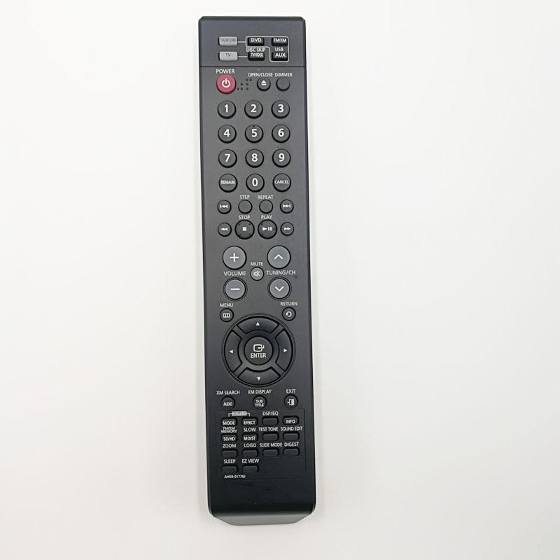 Используется оригинальный пульт дистанционного управления ah59-01778j для Samsung ah59-01778b MM-X5T/XAA DVD/домашний кинотеатр аудио
