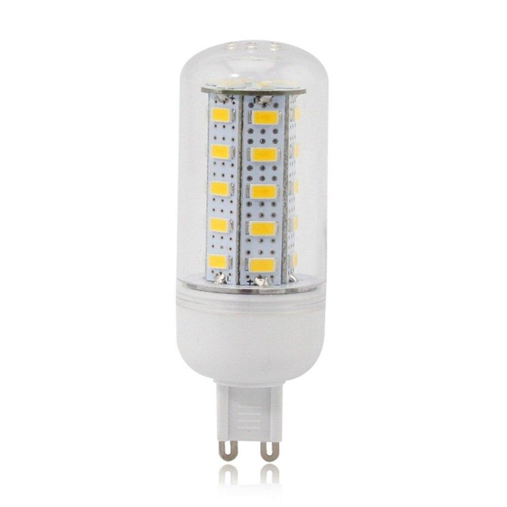 4 X G9 7 W 36 SMD 5730 1680 LM bombillas de maíz blanco cálido 220V o 110v
