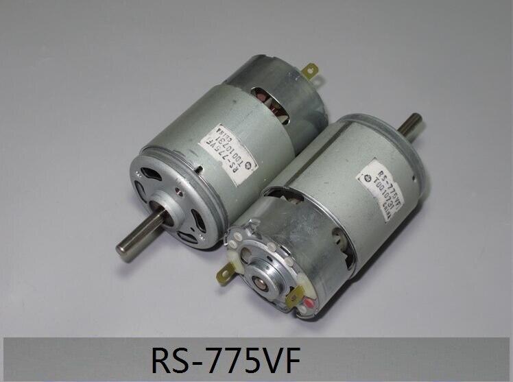 1 шт. RS-775VF-4047 микро двигатель постоянного тока RS-775VF щетка из драгоценного металла 5-36VDC высокоскоростной двигатель RS775