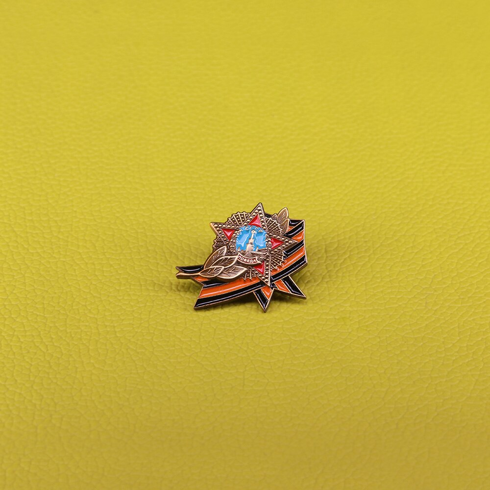 CCCP pin orden soviética de la victoria insignia USSR medalla de premio réplica Rusia broche de estrella roja para hombres regalo Patriota
