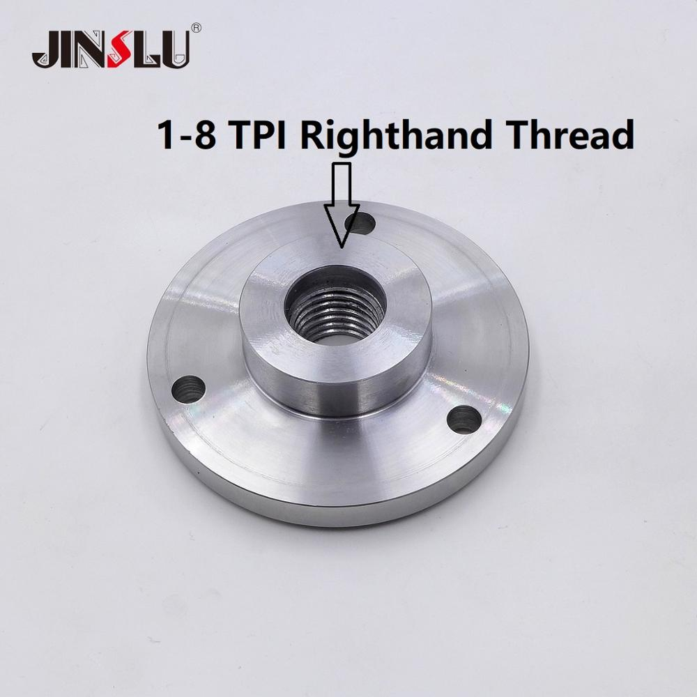 mt3 ms3 taper shank ring flange plate connector adapter for k11 k12 125mm 5 5inch 3jaws 4jaws 125 chuck lathe spindle milling 1-8 TPI Spindle Thread Chuck Flange Back Plate base plate Adapter Plate chuck K11-80 K12-80  K11-100 K12-100  K11-125 K12-125