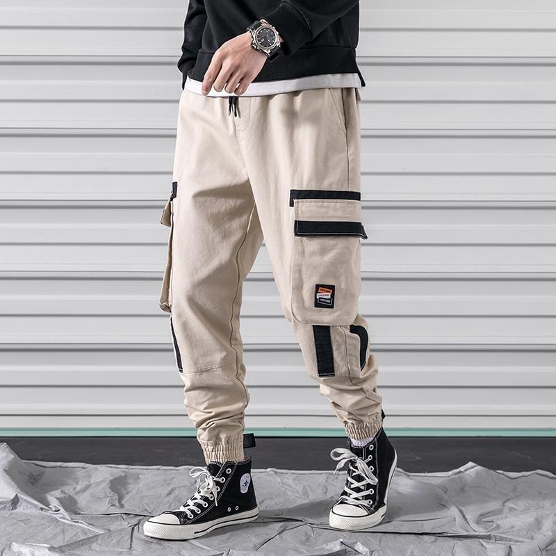 M-3XL 2019 Spring Track Pants Men Sweatpants Mens Joggers Pants Cargo Camo Tactical Harem Army Pants