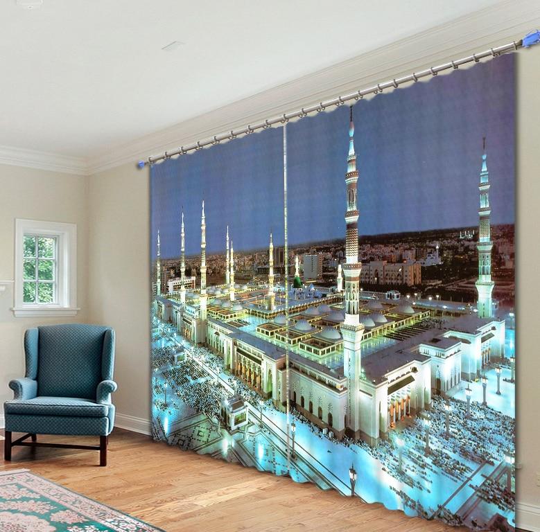 سعر جيد مكة مسجد الستار ثلاثية الأبعاد غالاكسي مفاجأة هدية للمنزل