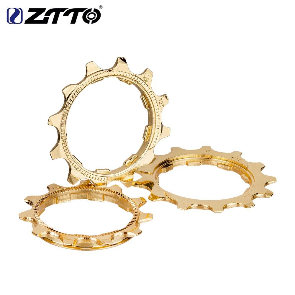 1 pieza 9/10/11 velocidad MTB bicicleta de carretera casete dorado Cog rueda libre pieza de acero accesorio de bicicleta