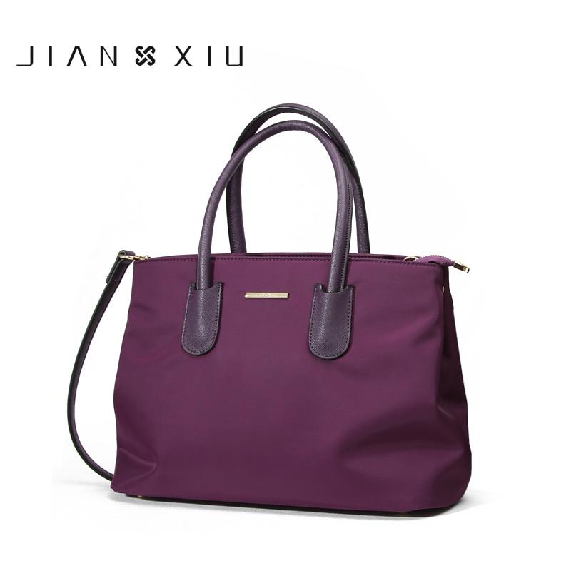 JIANXIUBrand أزياء النساء حقيبة يد بولسا الأنثوية حقيبة يد فاخرة حقائب النساء مصمم Sac أكسفورد الكتف Crossbody حقيبة