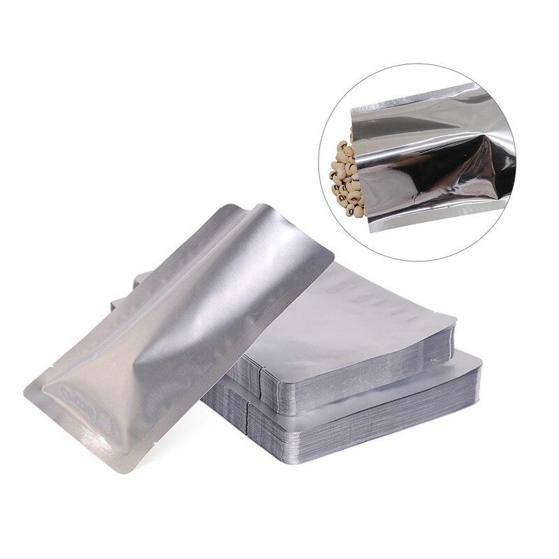 Urijk 100 stücke Vakuum Versiegelung Beutel Lagerung Tasche Wärme Dichtung Aluminium Folie Taschen Food Grade Wärme Abdichtung Tasche Küche Liefert