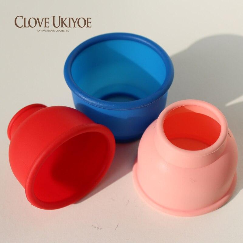 3 unids/set de mangas de anillo de goma de silicona para la ampliación de la bomba del pene accesorios atractivos para hombres