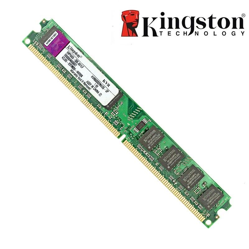 Originale Kingston RAM DDR2 4 GB 2GB PC2-6400S DDR2 800MHZ 2GB PC2-5300S 667MHZ Desktop di 4 GB