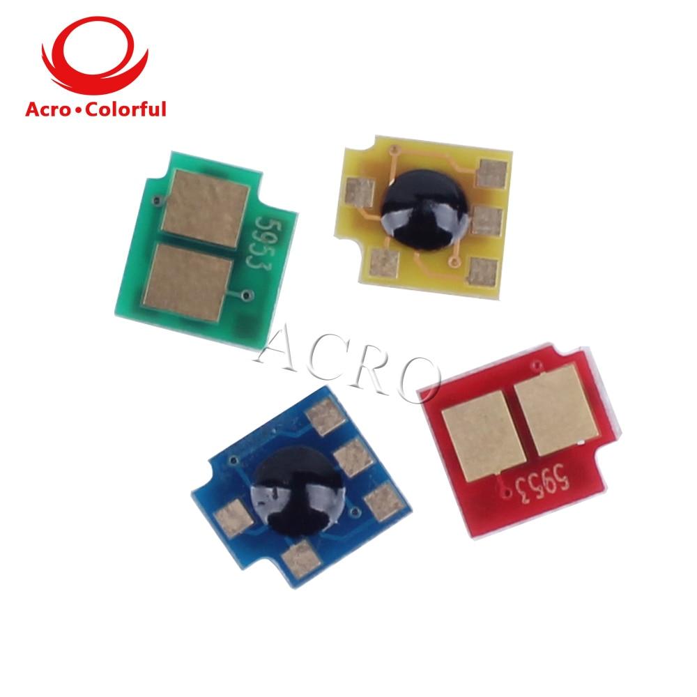 5 Juegos Q5950A qq5953a Q5952A Chip para HP Color LaserJet 4700 4700n 4700dn 4700dtn cartucho láser reinicio impresora