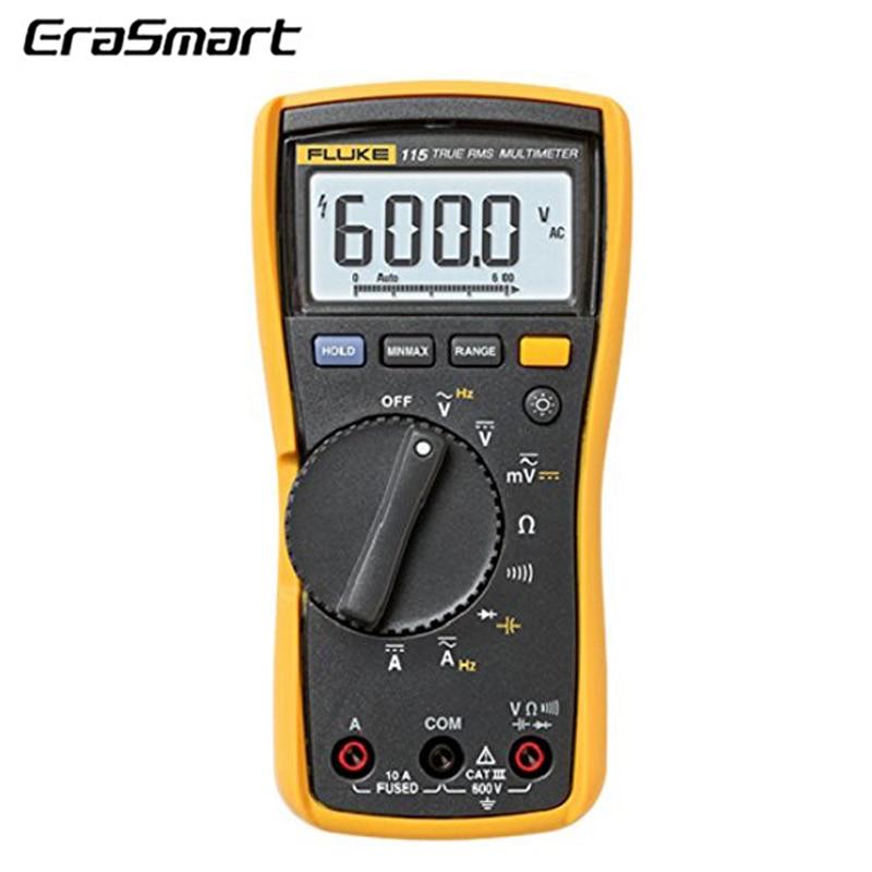 Multímetro digital Fluke 115-valores eficaces verdaderos multímetro digital fluke 115