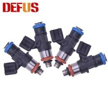 DEFUS-buse dinjecteur de carburant 0280158051   Ensemble 4X 500cc/min pour 08-13 Corvette LS3 L99 10-15 Camaro SS 06-13 LS7 Z06