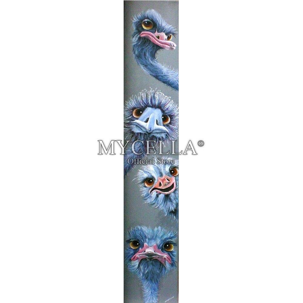 Animales 5d Diy diamante pintura punto de cruz diamante bordado diamante mosaico avestruz pasatiempos regalos pegatinas de pared decoración del hogar