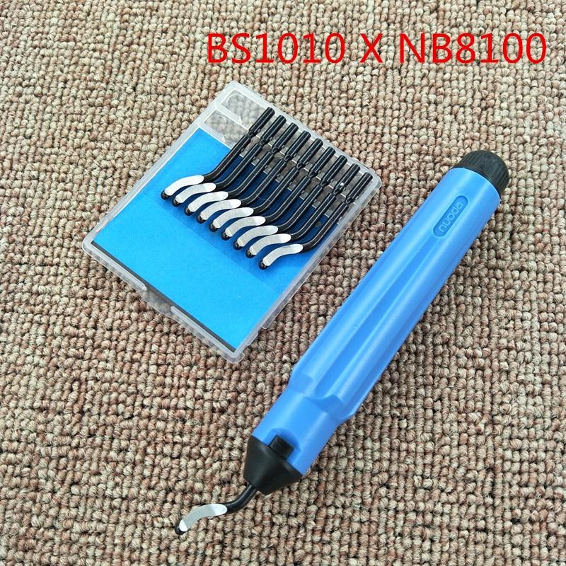 Набор лезвий для снятия заусенцев, набор инструментов для снятия заусенцев из дерева и металла в виде ручки для снятия заусенцев