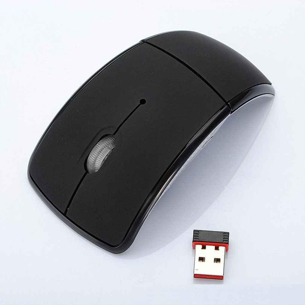 Лидер продаж Arc 2,4G Беспроводная складная мышь беспроводные мыши USB Складные приемники игры Компьютерные аксессуары для ноутбука