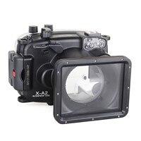 Meikon 40m/130ft Underwater Waterproof Diving Camera Housing Case for Fujifilm X-A1 (16-50mm ) Waterproof Underwater case