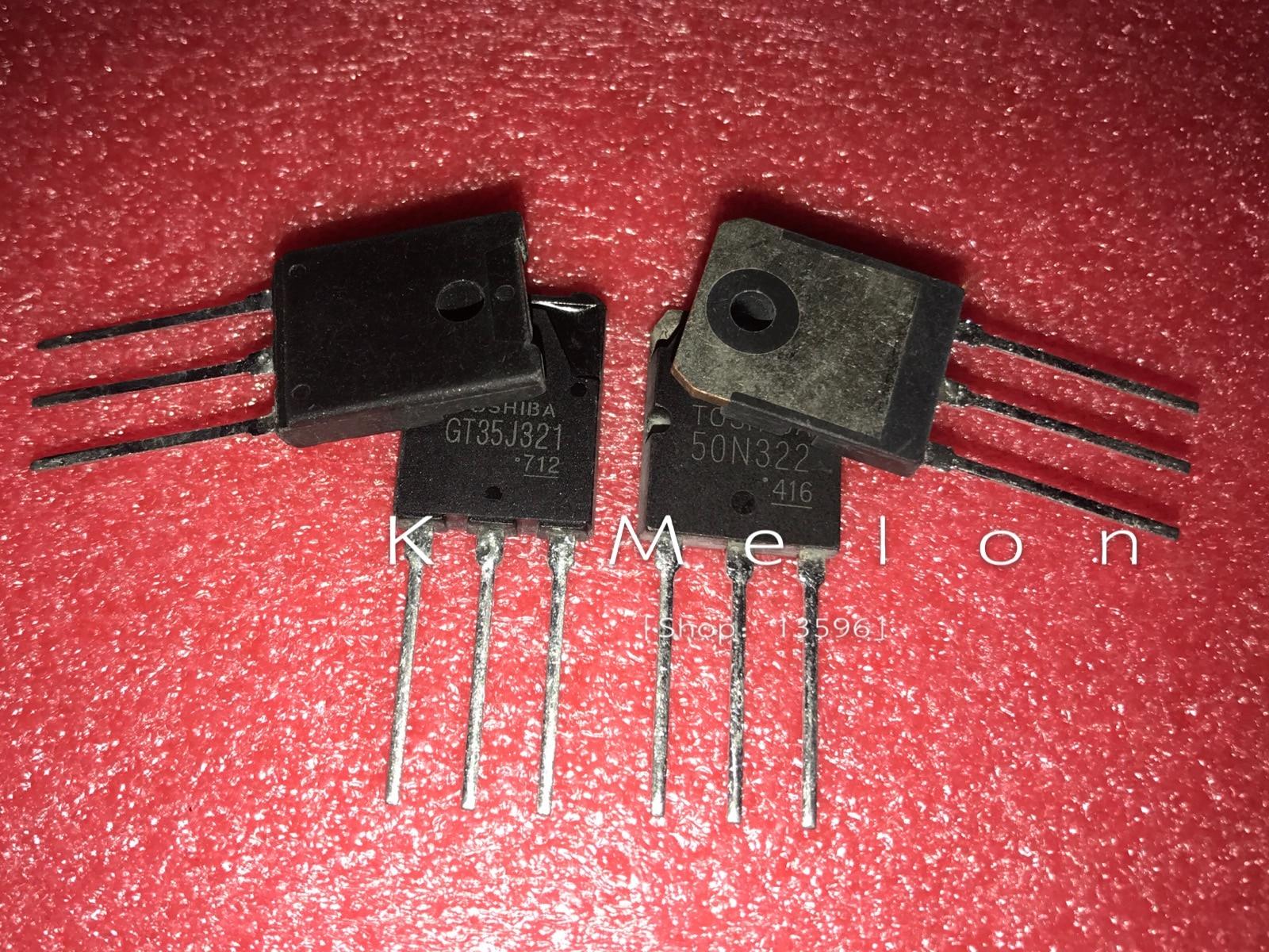 Nuevo GT35J321 35J321 TO-3PF + GT50N322 50N322 TO-3P