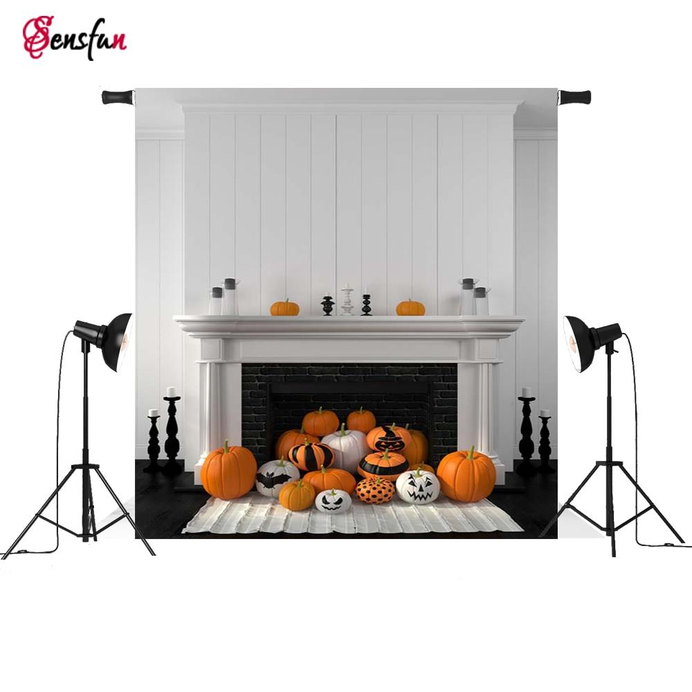 Fondo de fotografía interior pared blanca tema moderno Halloween telón de fondo profesional cámara de estudio fotográfico fotográfica