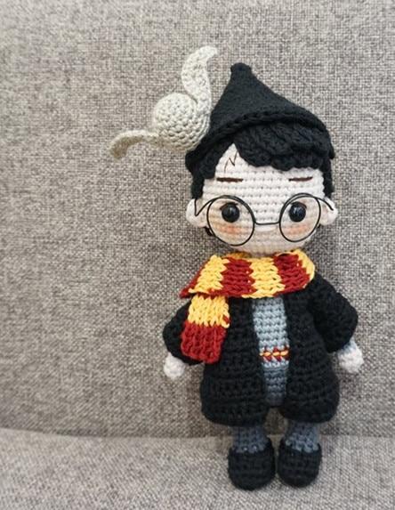 crochet toys  amigurumi   Amigurumi  doll rattles  number  WS0044