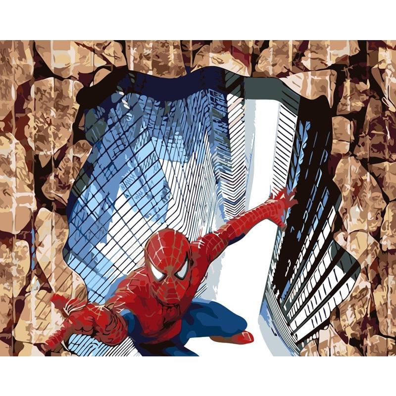 3D Супермен звезда картина по номеру Новое поступление картина по номерам наборы Раскрашивание уникальный подарок декор комнаты домашний о...