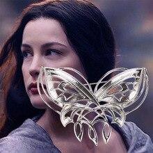 Free Shipping Wholesale 24pcs/lot Arwen Butterfly Brooch Hobbit Brooch/Pin Fashion Alloy Movie Jewelry Brooch