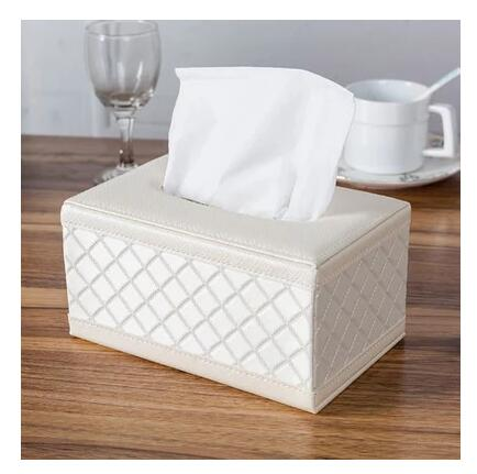 PU servilletero de cuero patrón de Casa hold Home decoration cache boite mouchoirs fundas para cajas de pañuelos de papel caja de papel tisú PZJH011