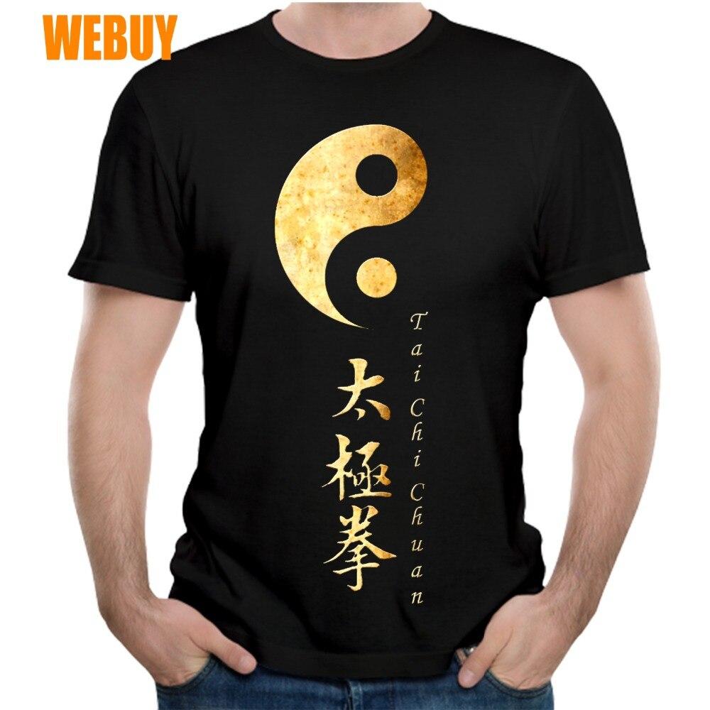 New Sale Tai Chi Yin Yang T Shirt Boy Harajuku S-6XL Plus Size T-Shirt 3D Print 100% Cotton Breathable