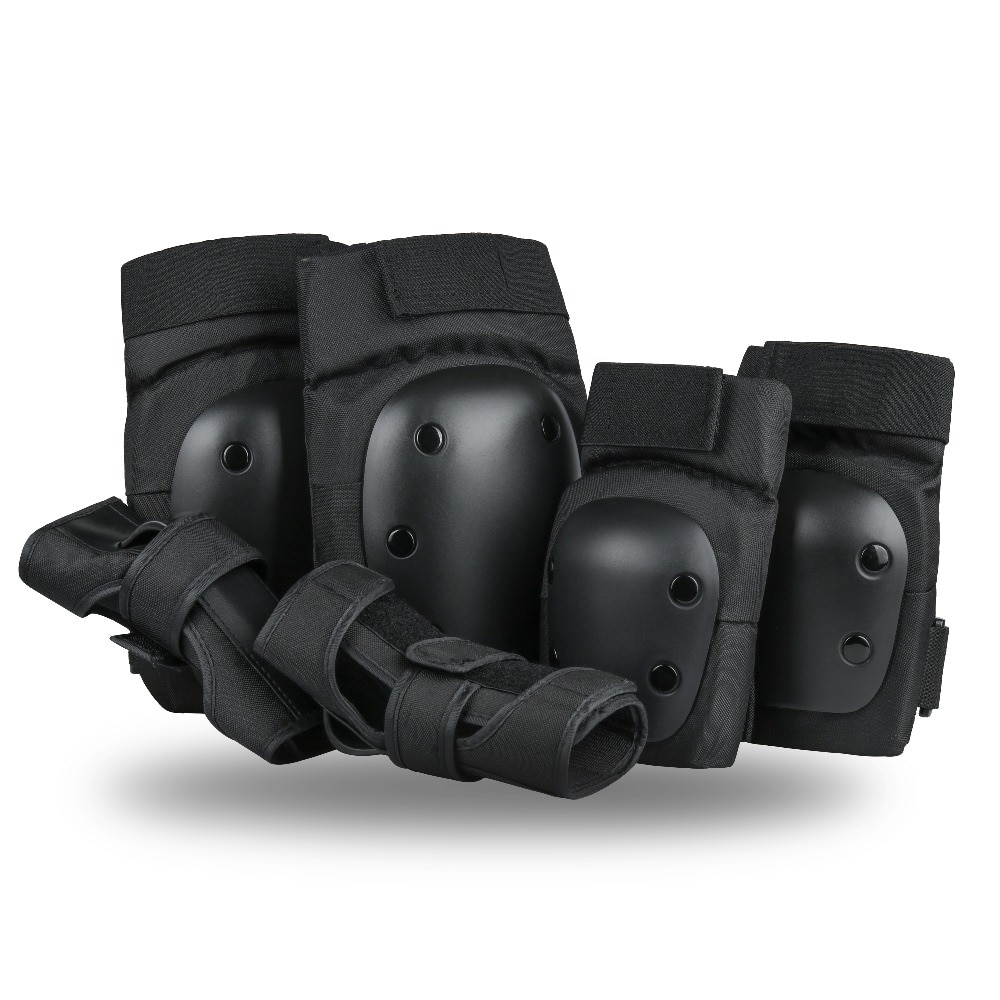 Szblaze Knee Pads Elbows Pads Wrist Guards 3 in 1 Safety Protective Gear Set For Skateboarding, Inli