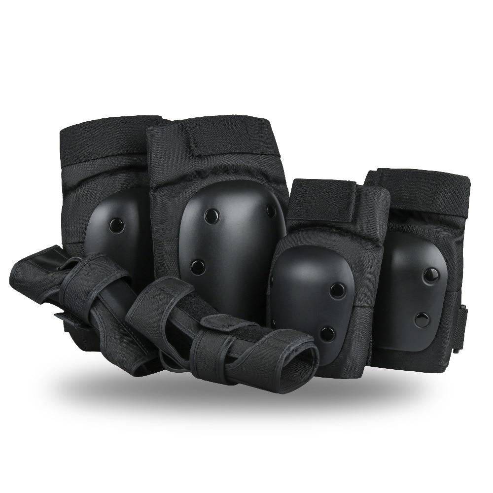 Szblaze-وسادات الركبة ، واقيات المعصم 3 في 1 ، ومجموعة معدات السلامة للتزلج ، والتزلج على الجليد ، ودراجة BMX