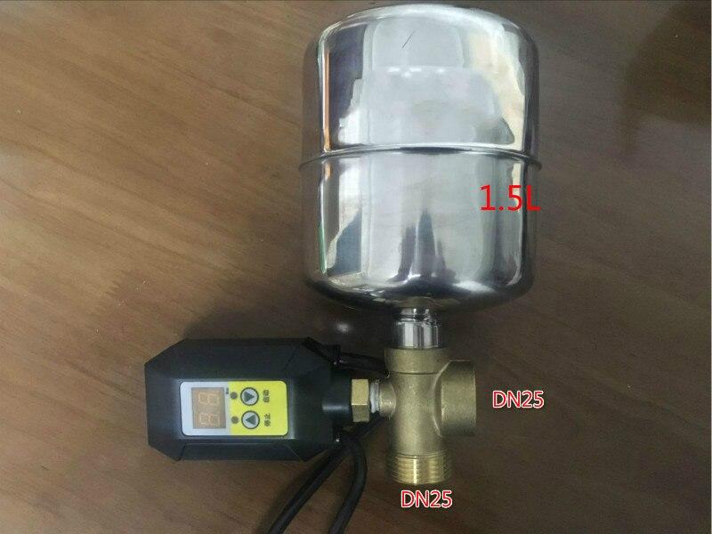 مضخة مياه رقمية ذكية ، إلكترونية ، ضغط ، تحكم في أجزاء المضخة ، للمنزل