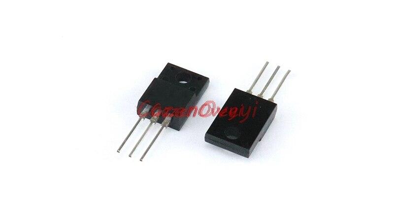 10 unids/lote FQPF7N80C TO-220F 800V 7A en Stock