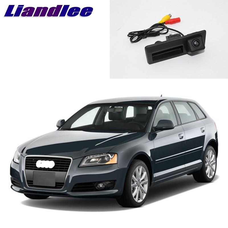 LiandLee Alça Mala Do Carro Rear View Invertendo Estacionamento Camera Para Audi A3 8 P 2003 ~ 2012