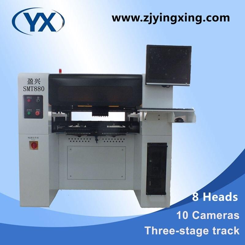 Máquina de recogida y colocación Smt Chip montador alto Smt de precisión Producción de iluminación Led línea de montaje doble visión Smd