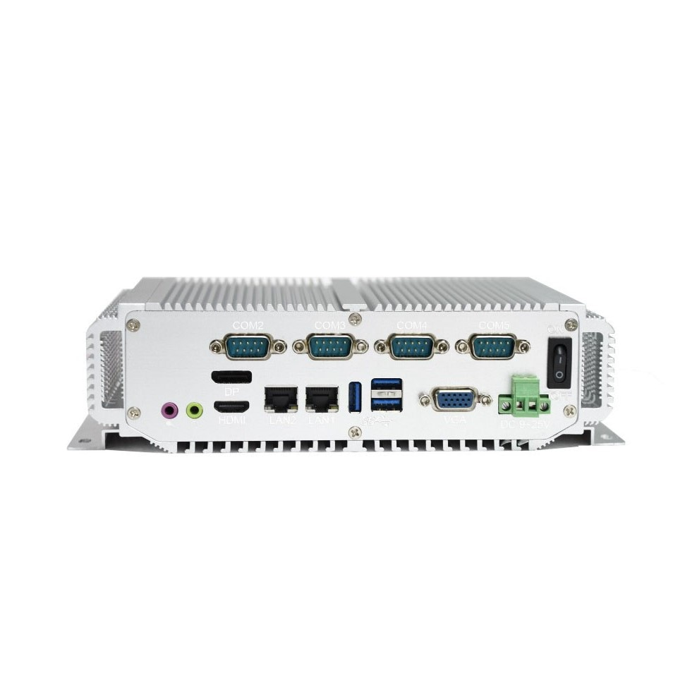 1u rack server 4 GB de RAM 1 * HDMI 2 * LAN 5 * USB 4 * COM com Intel Core processoer I5-3317U