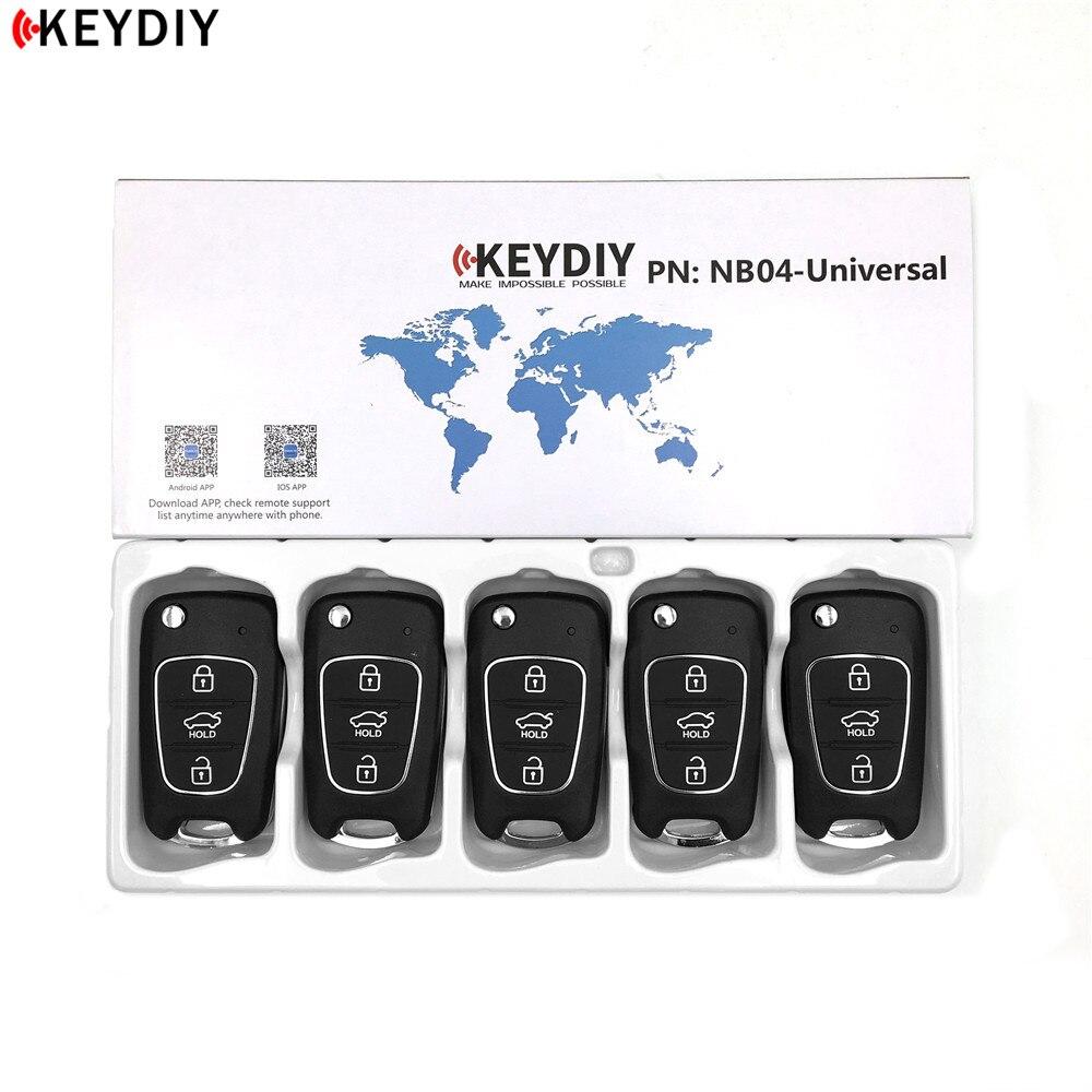 5 pces, keydiy original kd900/KD X2 programador chave nb04 universal multi funcional kd mini remoto para kia estilo Chave do carro    -