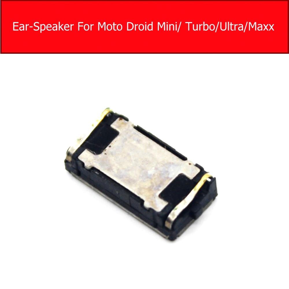 Auricular altavoz para Motorola Droid Mini XT1030 /Maxx XT1225 auricular altavoz para Moto Droid Turbo Ultra piezas de repuesto