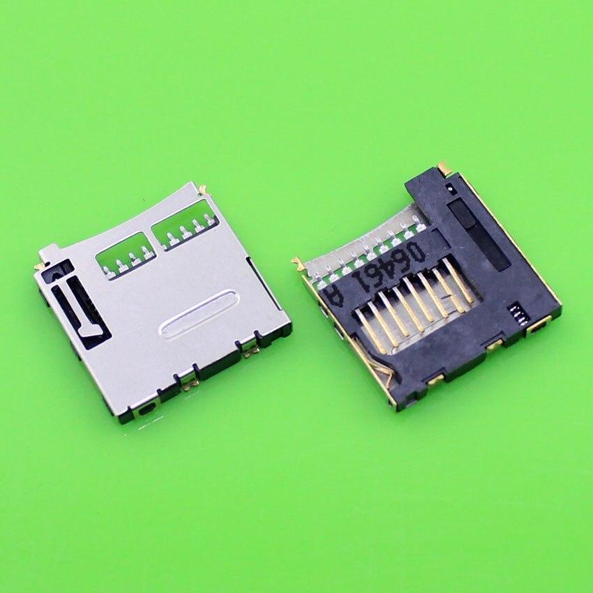 Chenghaoran 1 peça conector de soquete de substituição para o telefone móvel tf cartão e micro sd suporte de cartão slot bandeja módulo. KA-065