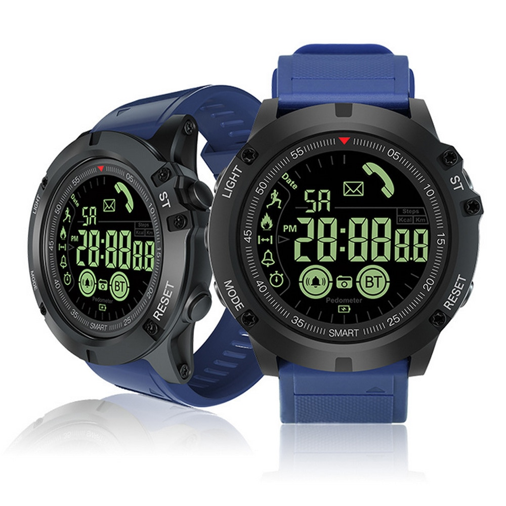 EX17S/PR1 Bluetooth Sport Digital Smartwatch 18-month Standby Time 24h All-Weather Monitoring Smart Watch for IOS Android