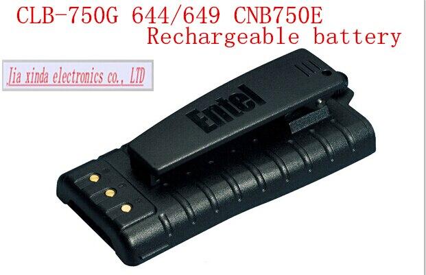 Bateria de Iões de Lítio Baterias de Lítio Recarregável de Telefone sem Fio Cnb750e Marine Two-way Hot Mew Clb-750g Ht-644 Ht-649