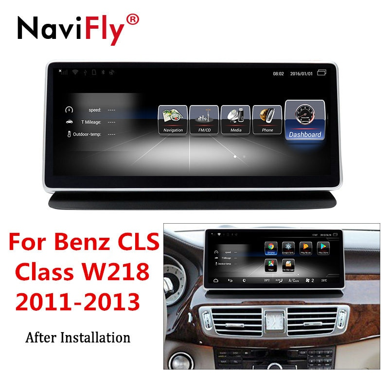 ¡Envío Gratis! 4G LTE 3 + 32G Android auto radio Multimedia Player navegación GPS para Mercedes CLS Benz Clase W218 2011, 2012, 2013,