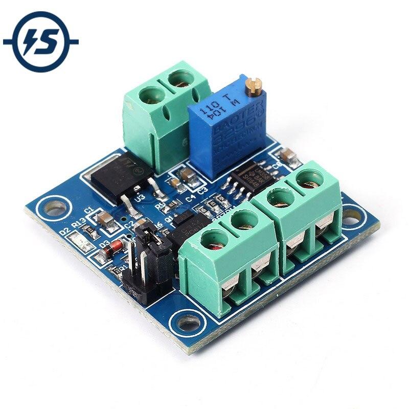Módulo conversor de voltaje PWM a 0%-100% a 0-10V para PLC MCU señal Digital a analógica PWM convertidor ajustable módulo de potencia