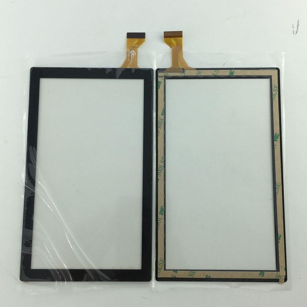 Prueba buena tableta de 7 pulgadas panel táctil Digitalizador de pantalla táctil vidrio RY052B o GT706-V3 GT706-V3 FHX