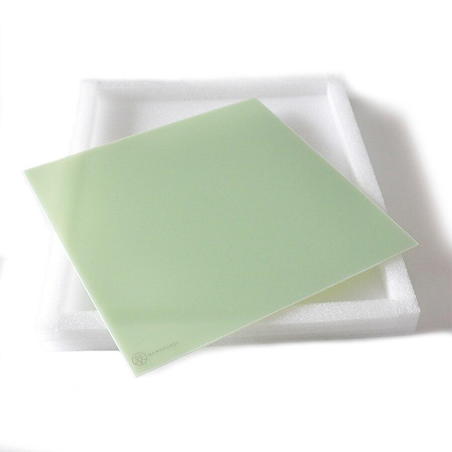 Mamorubot 3D Printer ultrabase Platform polypropylene Build plates ize 214-214mm 220-220mm 300-200mm