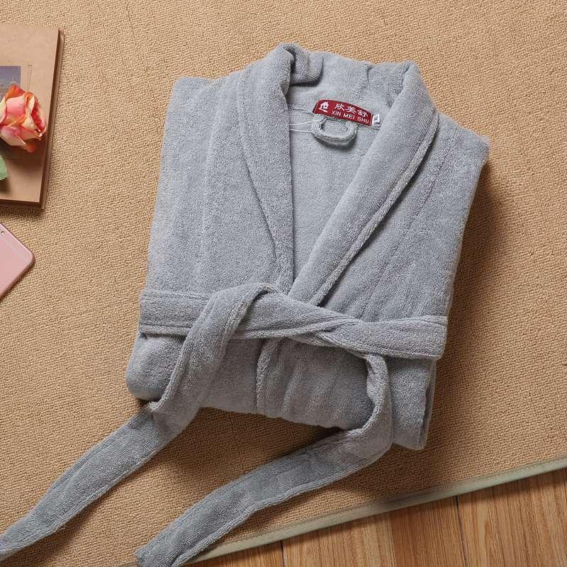 Мужской халат, зимний длинный халат, мужской теплый хлопковый длинный кимоно, банный халат, пижама, мужской халат, ночной халат, домашний бел...